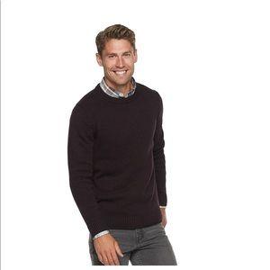 NWT Mens Good for Life crewneck sweater